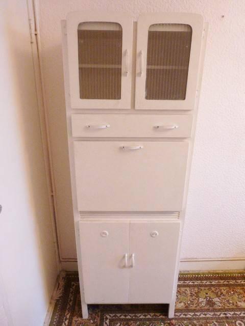 Vintage 1950s kitchen cabinet freestanding kitchenette for Kitchenette cupboard