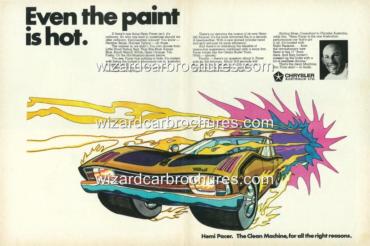 1970-CHRYSLER-VALIANT-HEMI-PACER-4-DOOR-MOPAR-A3-POSTER-AD-BROCHURE-ADVERT