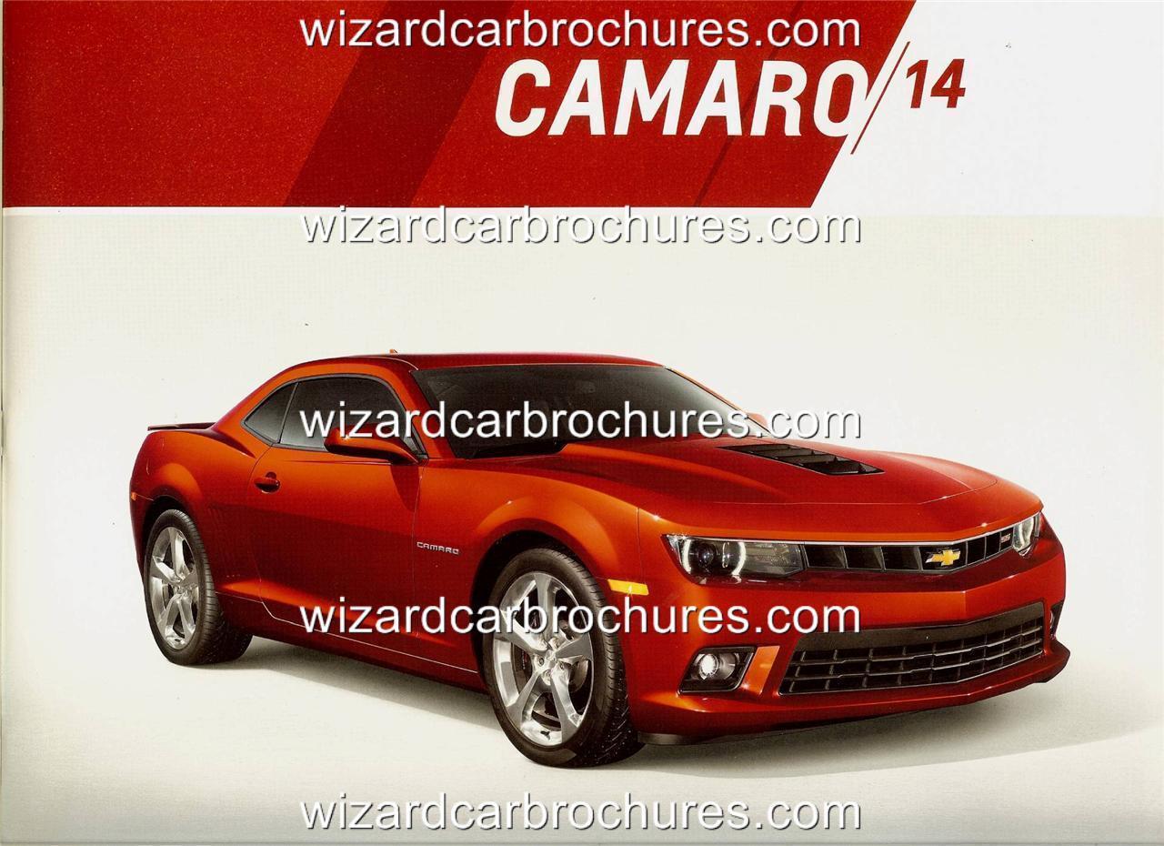 2014 chevy camaro prestige deluxe 32pp car sales brochure mmm ebay. Black Bedroom Furniture Sets. Home Design Ideas