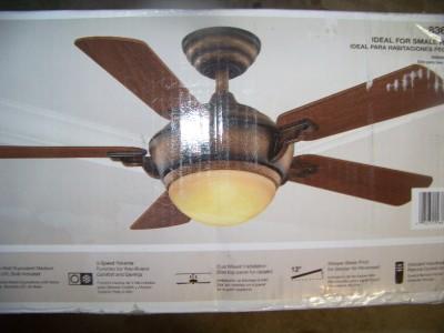 Hampton Bay Midili 44 Quot Indoor Ceiling Fan New No Glass