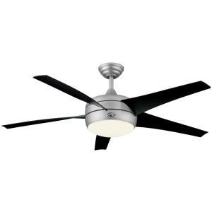 Hampton Bay 54 In Windward II Brushed Steel Ceiling Fan Globe Cracked EBay