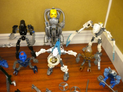 Huge Bionicle collection Mixed Lot