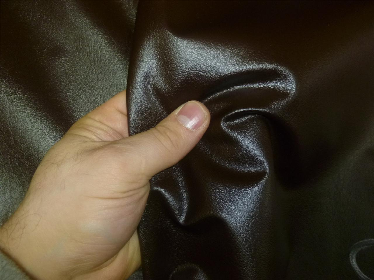 FAUX LEATHER UPHOLSTERY FABRICS (7 colours available) Fire Retardant