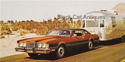 original vintage 1973 ford thunderbird 2 door hardtop vinyl roof car brochure ebay. Black Bedroom Furniture Sets. Home Design Ideas