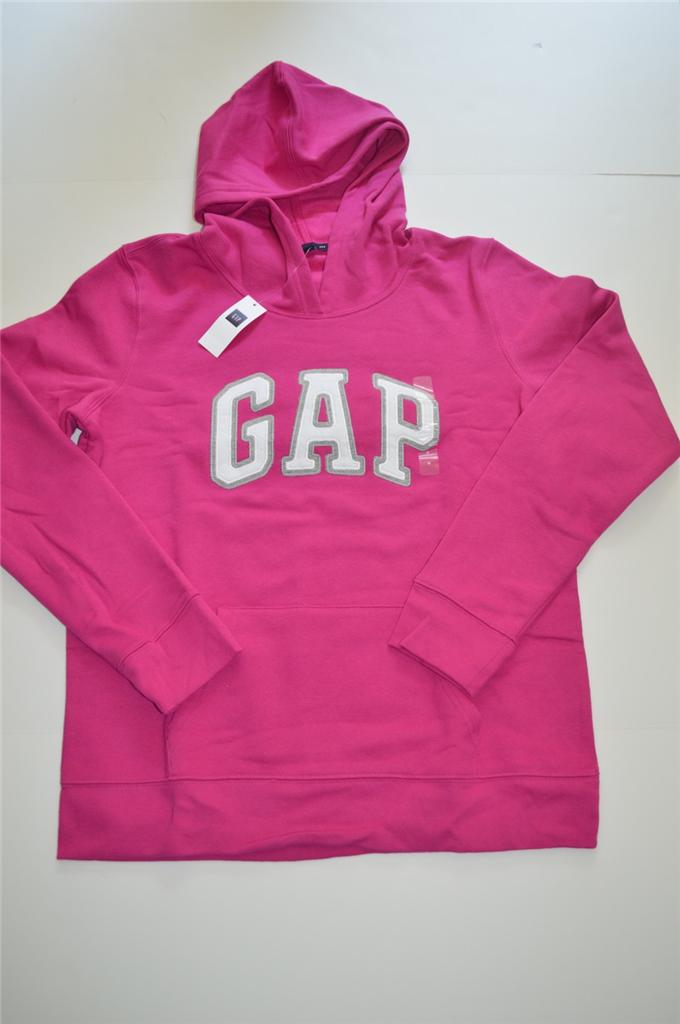New Women's GAP Logo Hoodie Sweatshirt S, M, L