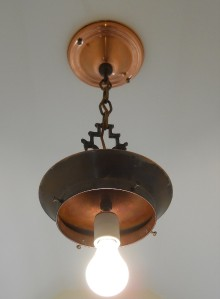 C 30s Vintage Art Deco Antique Chandelier Ceiling Light