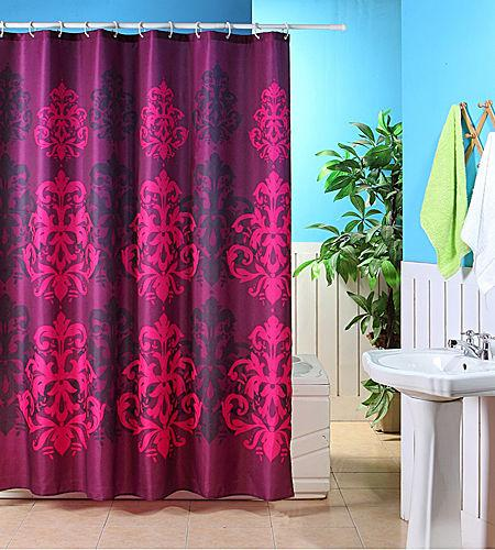 New Polyester Funky Shower Curtain Various Designs