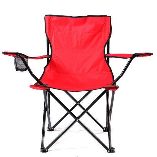 FOLDING OUTDOOR GARDEN CAMPING FESTIVAL TRAVEL CANVAS CHAIR WITH CARRY CASE
