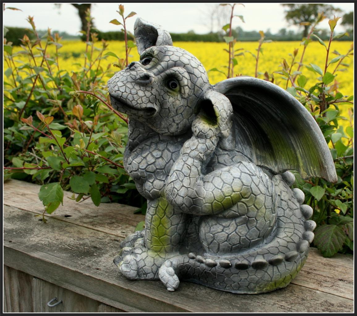 Dragon Garden Statues Resin Grosir Baju Surabaya