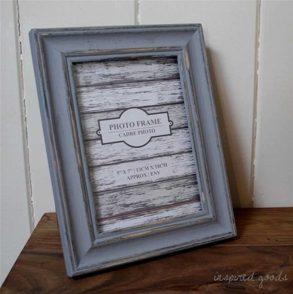 French-Country-Style-Distressed-Wooden-Photo-Picture-Frame-Shabby-Chic-Vintage