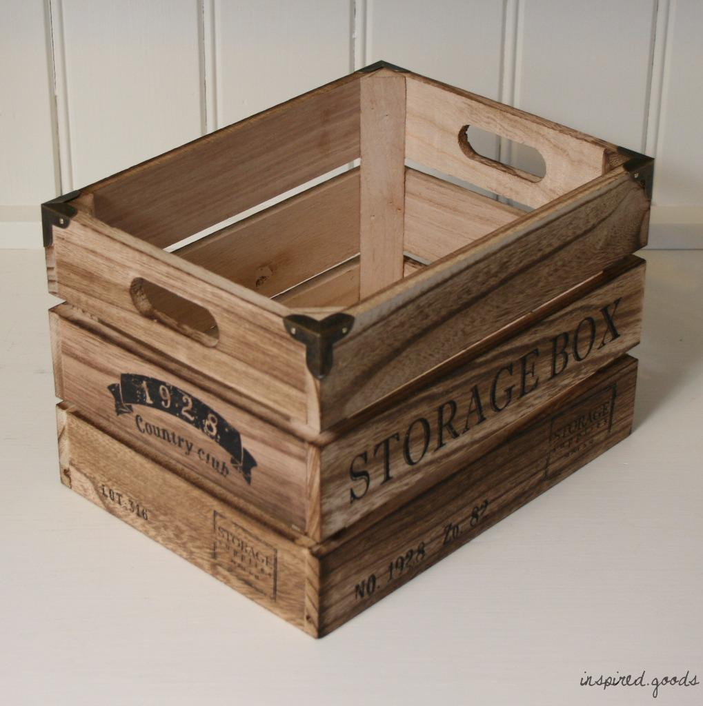 Vintage rustic wooden storage apple crates shabby chic for How to make apple crates