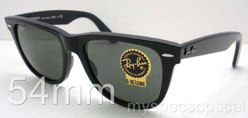 ray ban g15 lens glass  ray ban wayfarer 2140 901 g15 black new