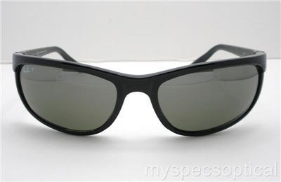 ray ban predator 2 polarized sunglasses rb 601 w1  ray ban 2027 601/w1 predator 2 black polarized mirror new 100% authentic