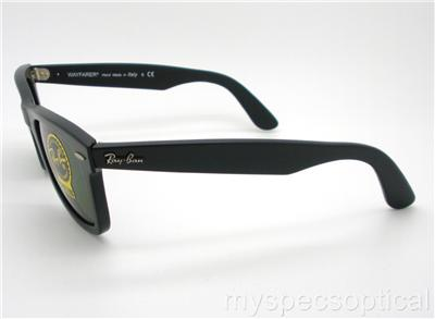 ray ban 2140 black  Ray Ban Wayfarer 2140 901 G15 Negro Nuevo Gafas de sol aut茅nticas ...