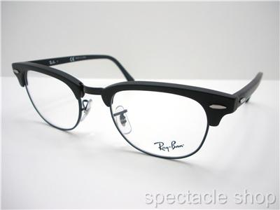 Ray Ban Clubmaster Black Matte