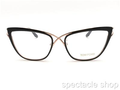 Black And Gold Eyeglass Frames : Tom Ford TF 5272 005 Black Rose Gold New Authentic ...