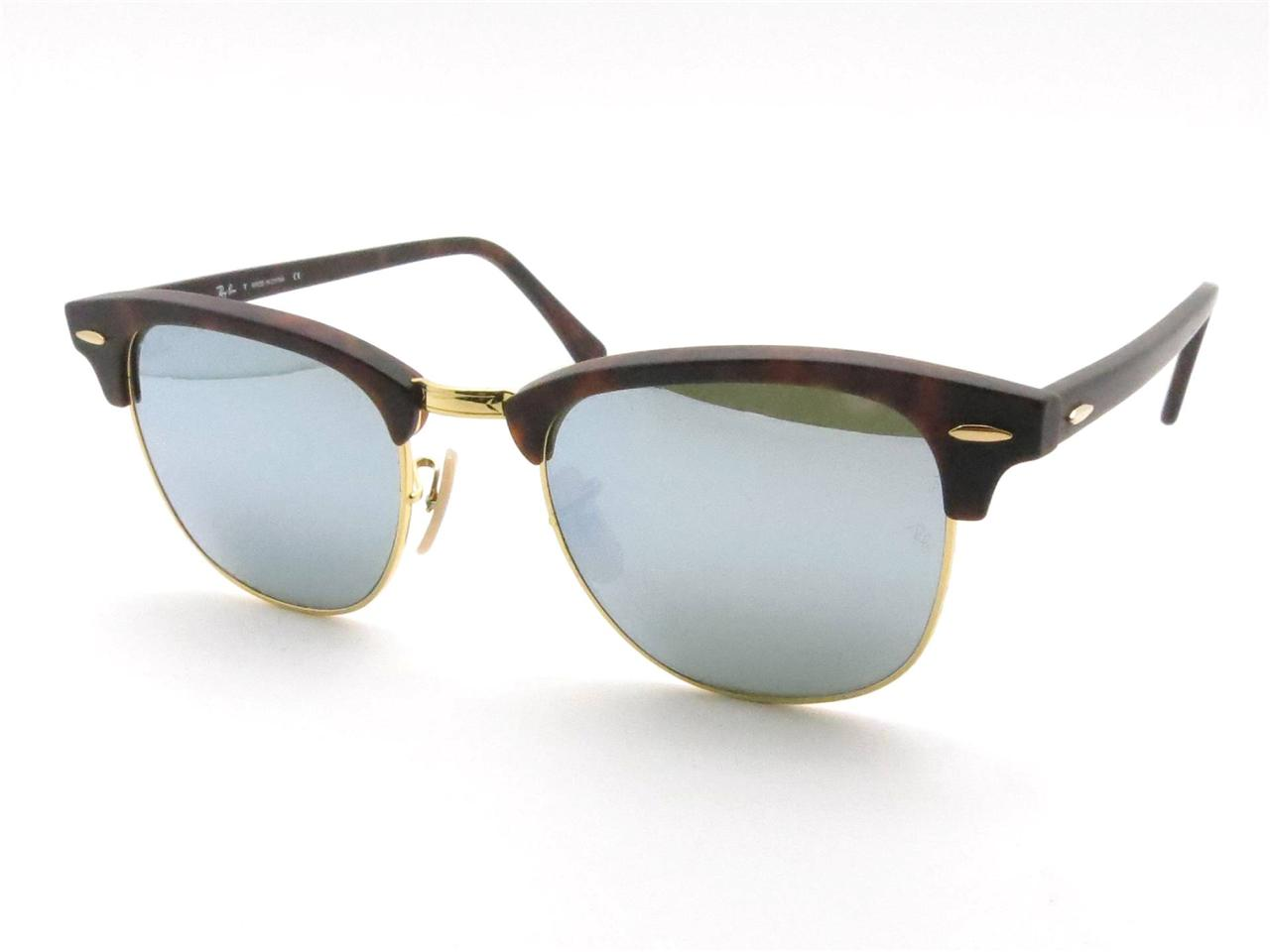 clubmaster optics ray ban  mirror clubmaster