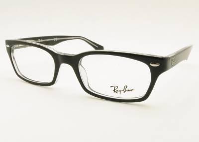ray ban rb 5150 2034 black crystal eyeglass new 100 authentic authentic black crystal