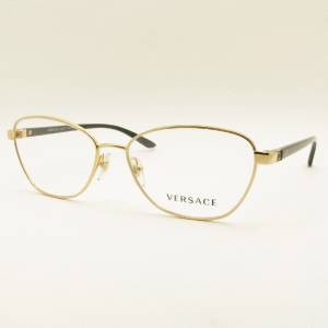 versace 1221 1002 gold black new authentic frames eyeglasses
