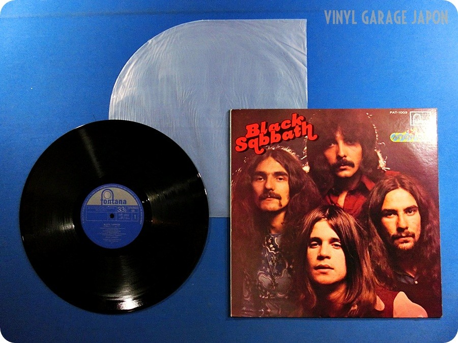 SABBATH NM WAX Black Sabbath Japan Ozzy Osbourne Ian Gillan LP w905