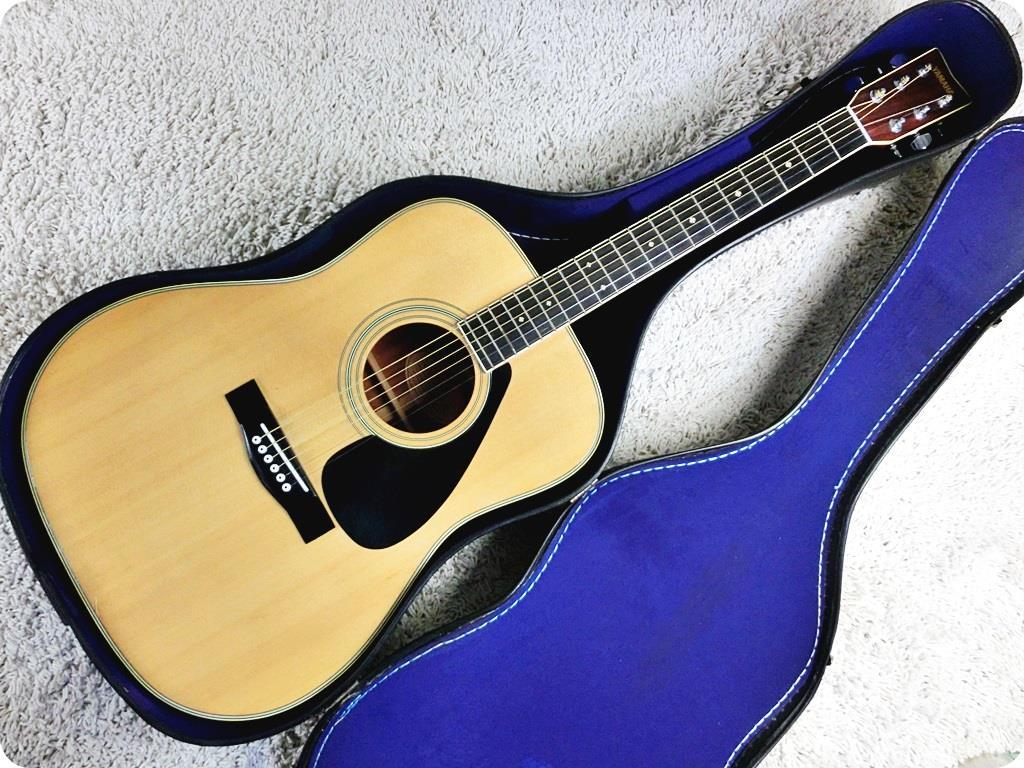 Yamaha fg 250d w hard case japan vintage acoustic guitar for Yamaha acoustic guitar ebay