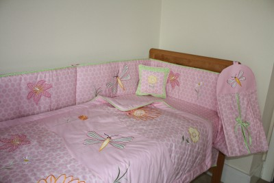 Girls Bedding Quilt Kayla On New Pink Baby Girl S Cotbed Cot Quilt