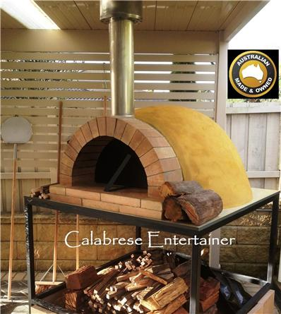 pizza oven dome outdoor woodfired wood fired diy kit instructions commercial ebay. Black Bedroom Furniture Sets. Home Design Ideas