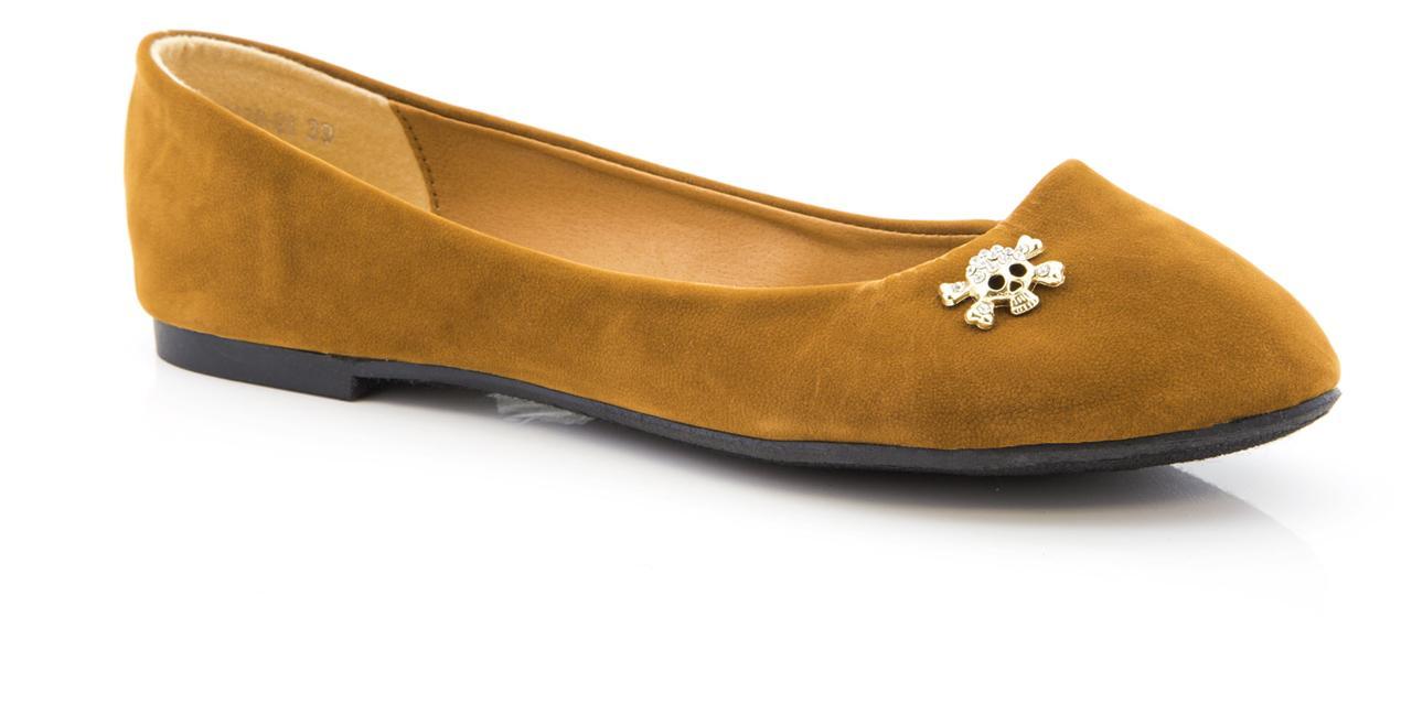 Nuevo Chicas Mujer Damas Calavera Gamuza diamantes Bailarina Plana Dolly Zapatos De Salón