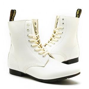 Dr Martens Women Boots shoes Bianca White