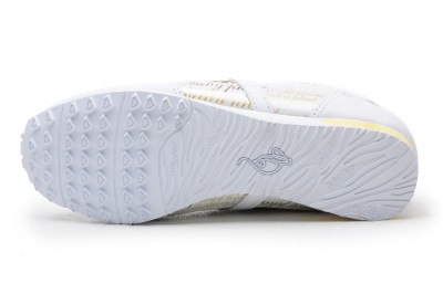 Baby Phat Womens Shoes BP RUNNER SCRIP CLEAR White/Gold