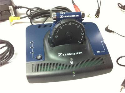 Sennheiser Set 840 S Rf Wireless Hearing Aid Compatible Tv