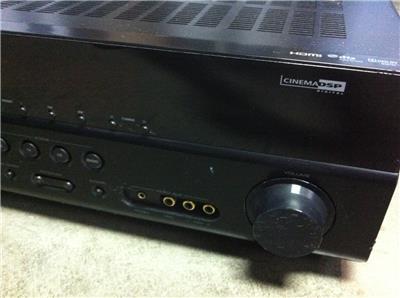 yamaha rx v367 5 1 surround 1080p hd a v digital hdmi. Black Bedroom Furniture Sets. Home Design Ideas