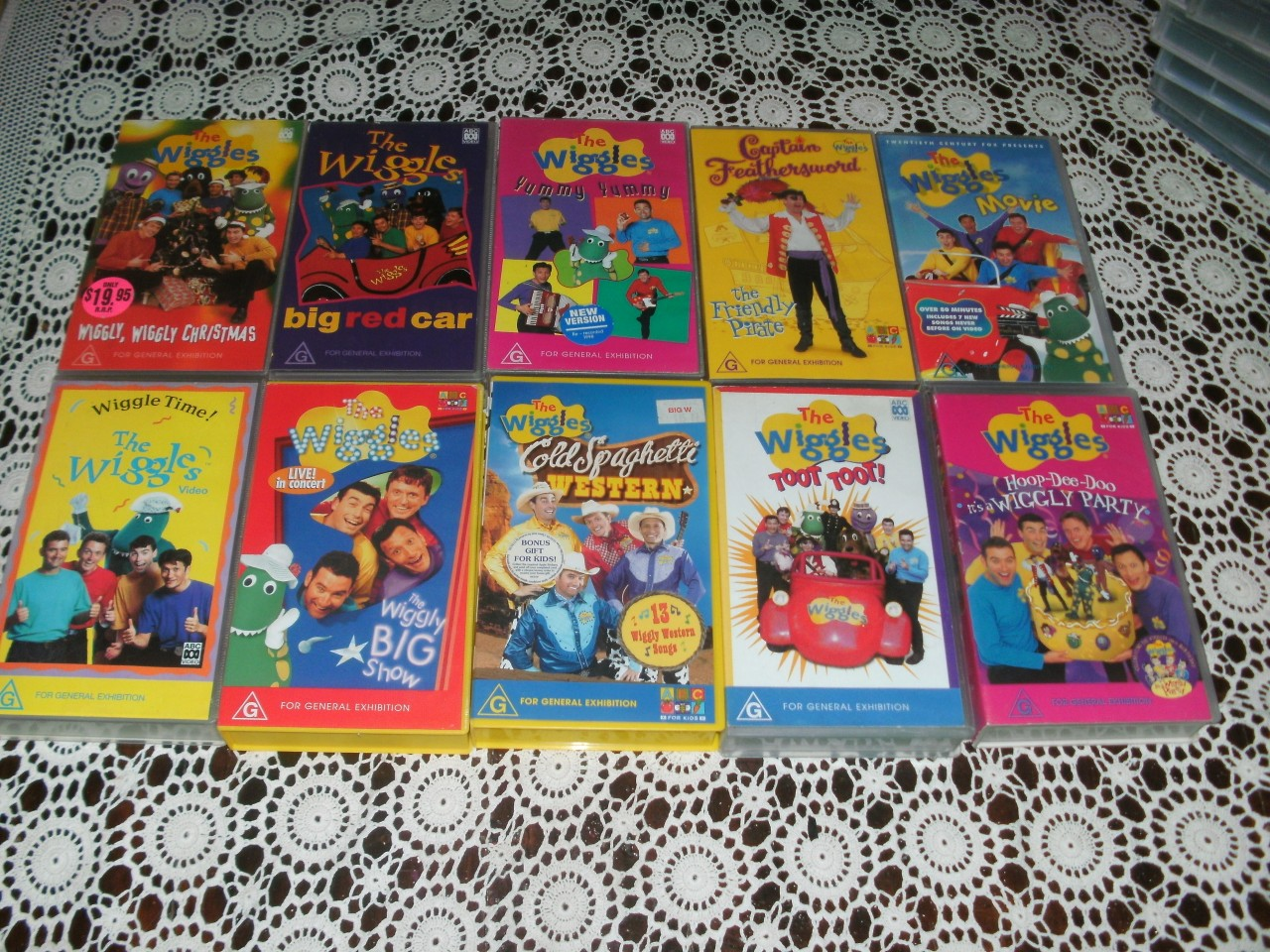 Wiggles Videos THE Wiggles X10 Videos...