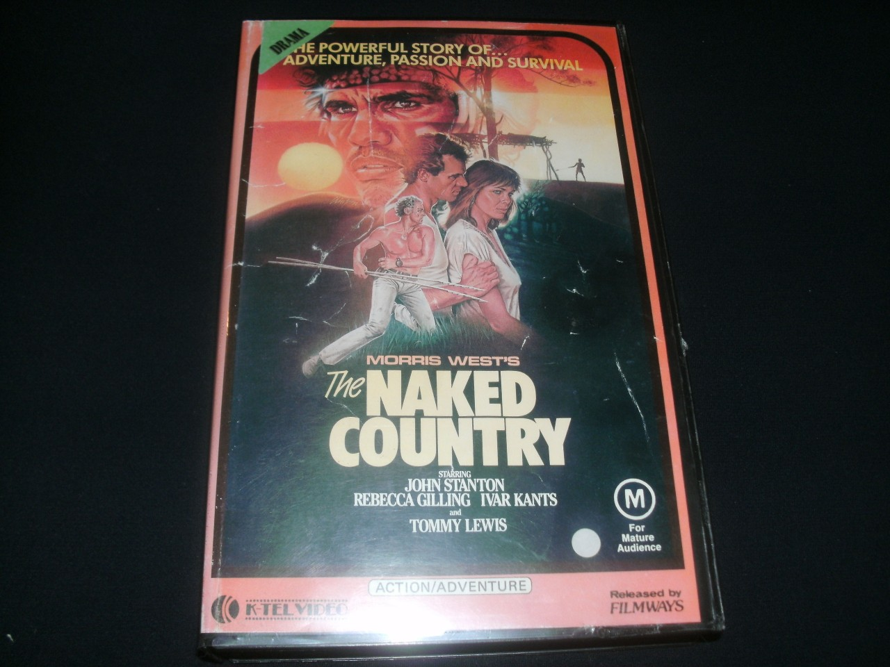 NAKED-COUNTRY-REBECCA-GILLING-RARE-VHS-VIDEO-PAL