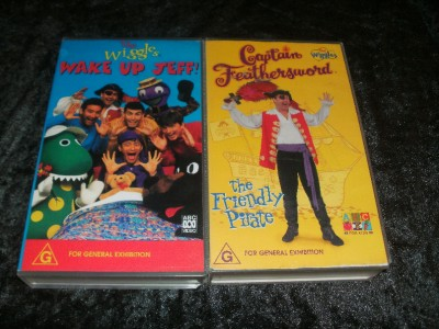 Details About The Wiggles X  Vhs Video Pal Rare Find