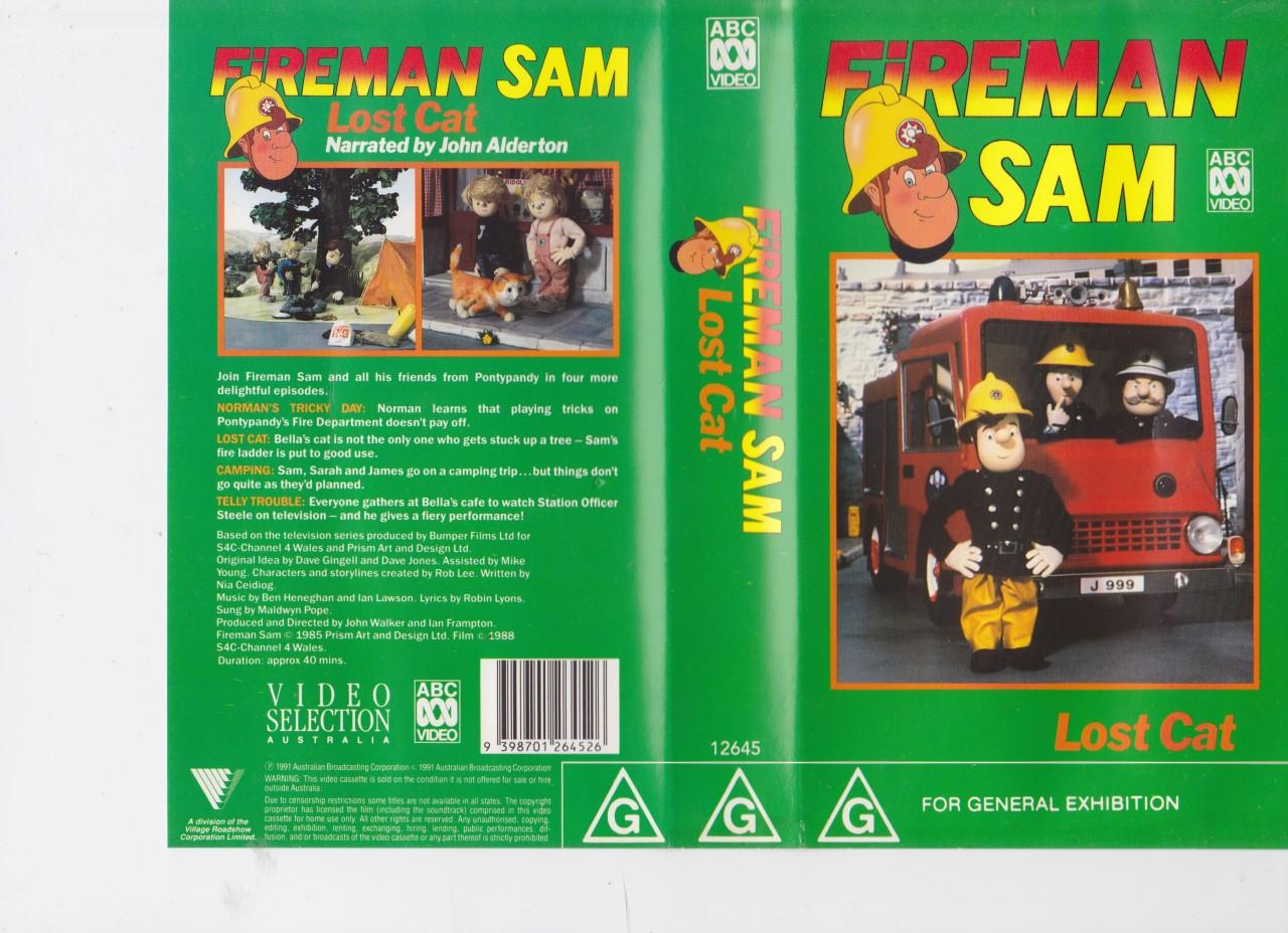 Fireman Sam  Lost Cat Video