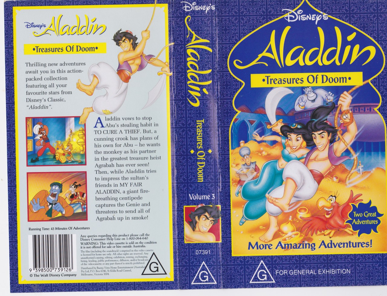 aladdin treasures of doom
