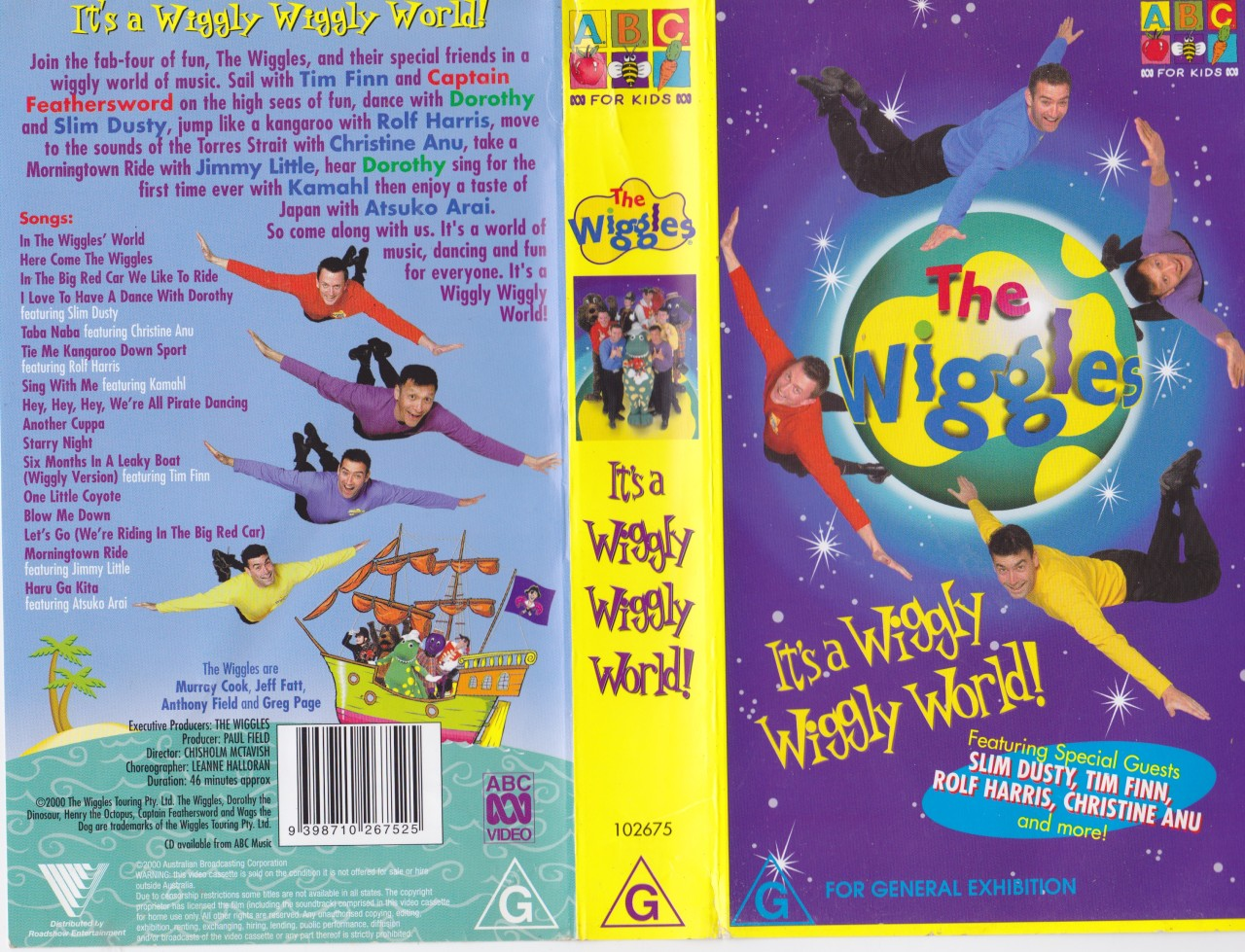 Details about THE WIGGLES ITS A WIGGLY WIGGLY WORLD VHS VIDEO PAL  A    The Wiggles Wiggly Wiggly World Vhs