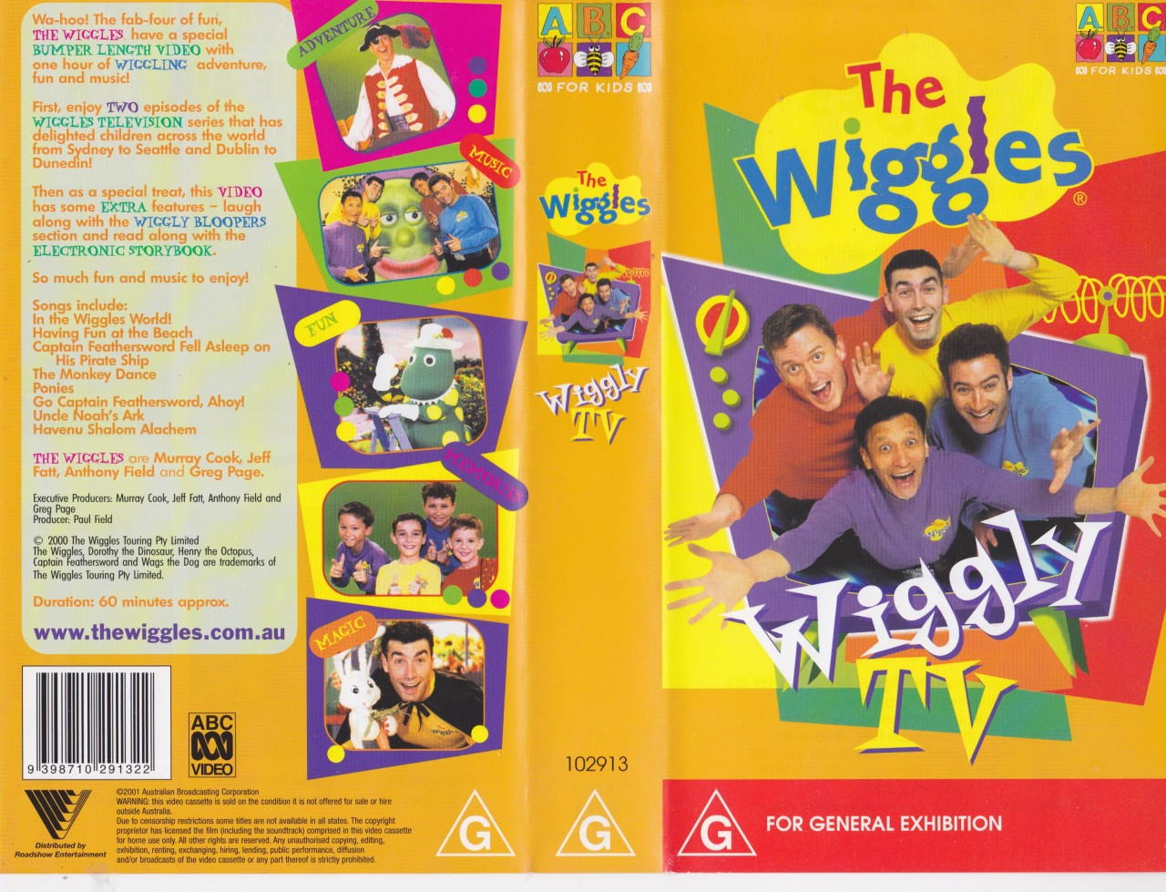 the wiggles vhs pictures to pin on pinterest thepinsta