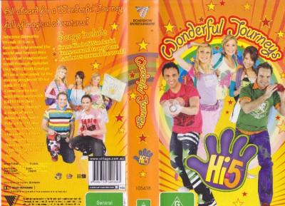 Hi 5 Wonderful Journeys Vhs Video Pal A Rare Find Ebay