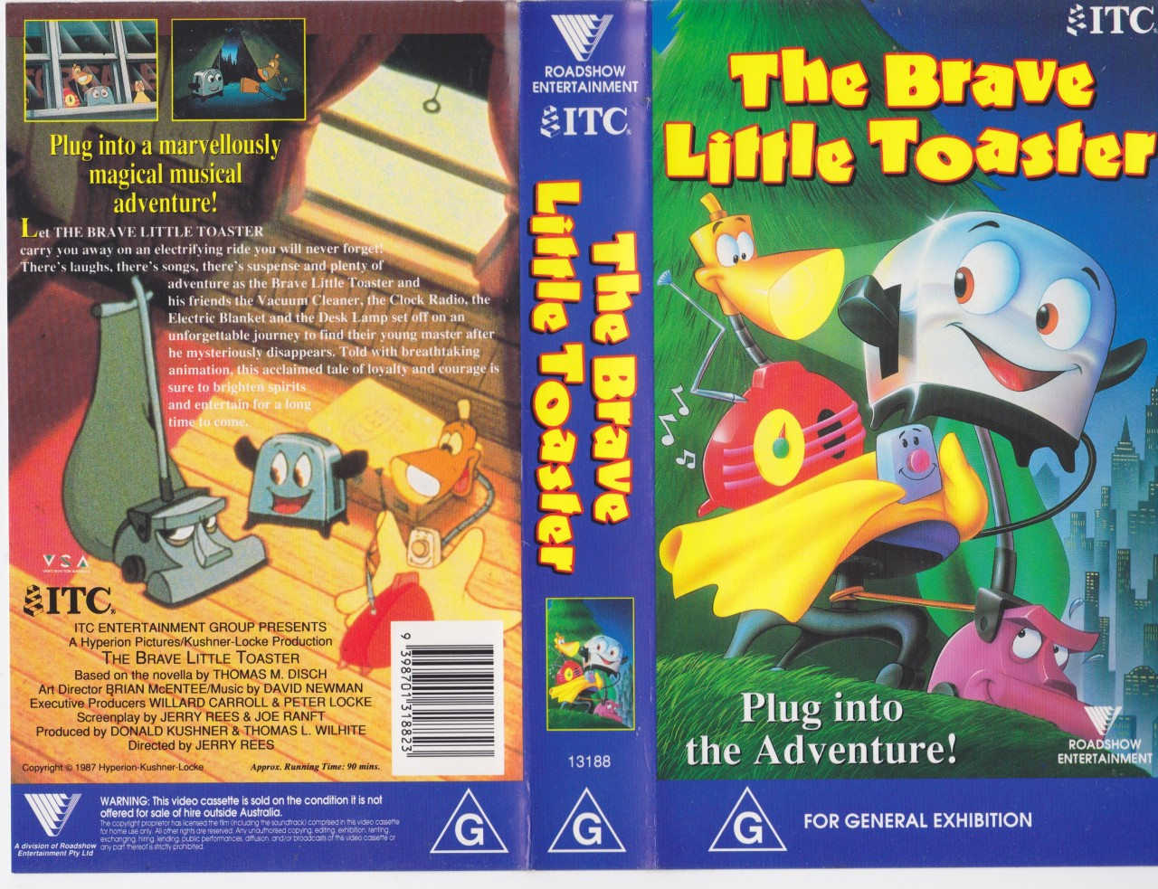 The Brave Little Toaster Goes to Mars VHS (page 3) - Pics ...