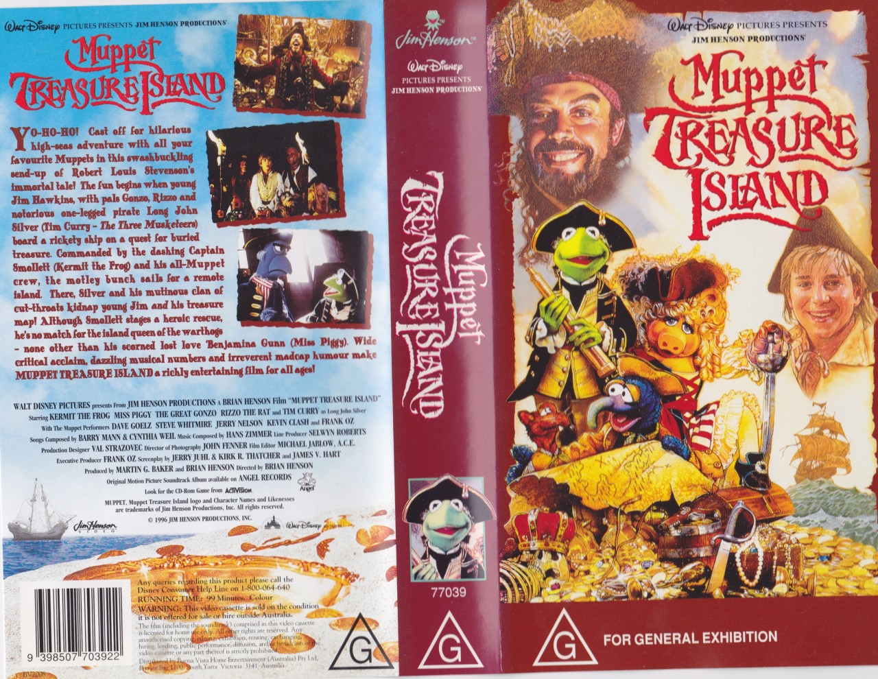Muppet Treasure Island Dvd Cover
