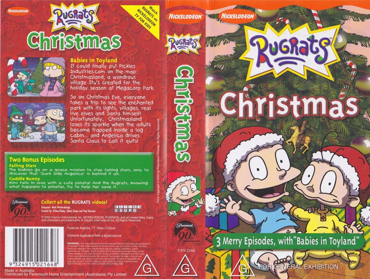 Rugrats christmas vhs