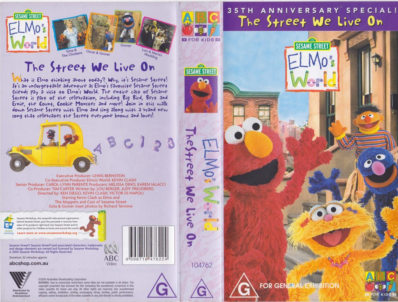 Sesame Street  Learn to Count 123 1991 UK VHS