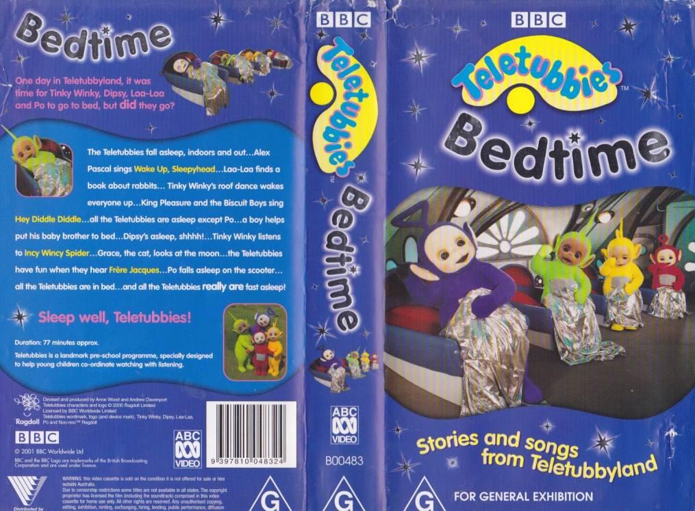 Teletubbies vhs bedtime