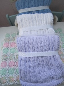 Knitting Pattern For Chenille Throw : KNITTING PATTERN BABY BLANKET CHENILLE 1000 Free Patterns