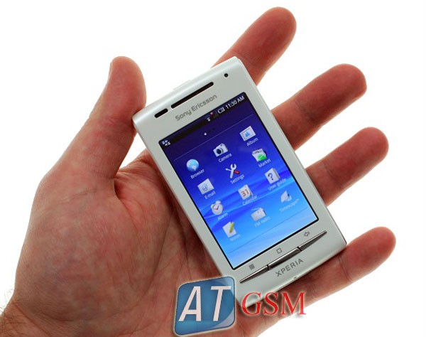 sony ericsson x8 white w pink and aqua covers unlocked. Manufacturer: Sony Ericsson Condition: Brand New in manufacturer unlocked package. Network: Quad-Band, 3G (HSDPA 900/2100) Compatible 2G Network with:
