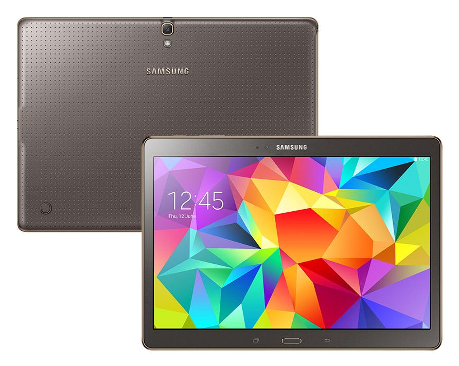 samsung galaxy tab s 10 5 sm t805 4g lte 16gb bronze. Black Bedroom Furniture Sets. Home Design Ideas