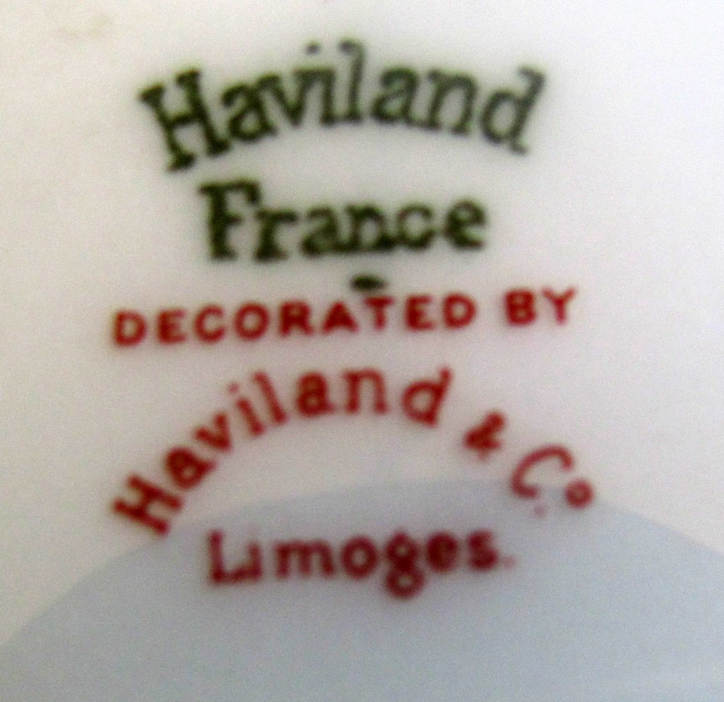 Limoges porcelain marks dating site 6
