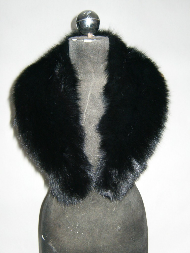 fur store with fox collars